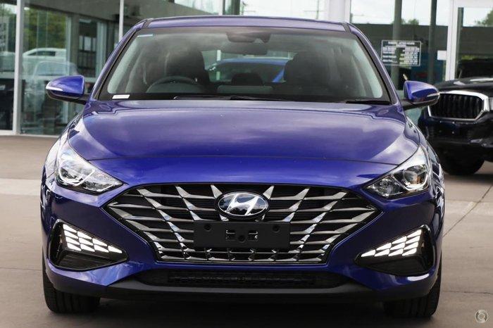 2021 Hyundai i30 Elite PD.V4 MY21 Blue