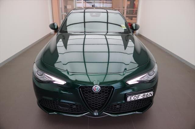 2021 Alfa Romeo Giulia Veloce Series 2 MY21 Visconti Green