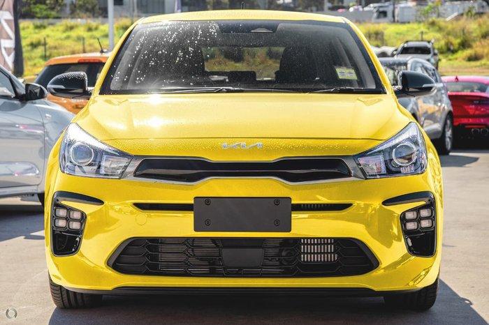 2021 Kia Rio GT-Line YB MY22 Yellow