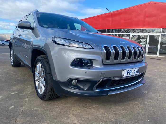 2015 Jeep Cherokee Limited KL MY15 4X4 On Demand Billet Silver