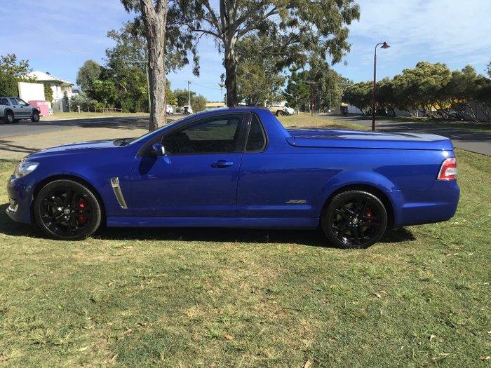 2015 Holden Ute SS V Redline VF Series II MY16 Slipstream Blue