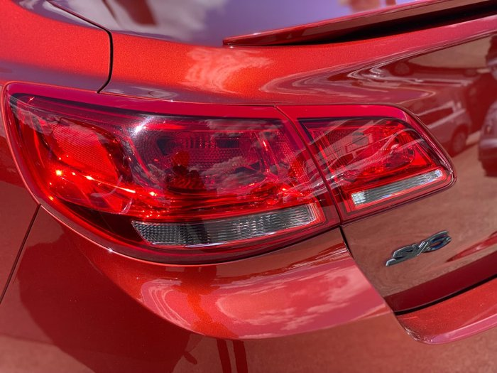 2015 Holden Commodore SV6 VF MY15 Some Like It Hot Red