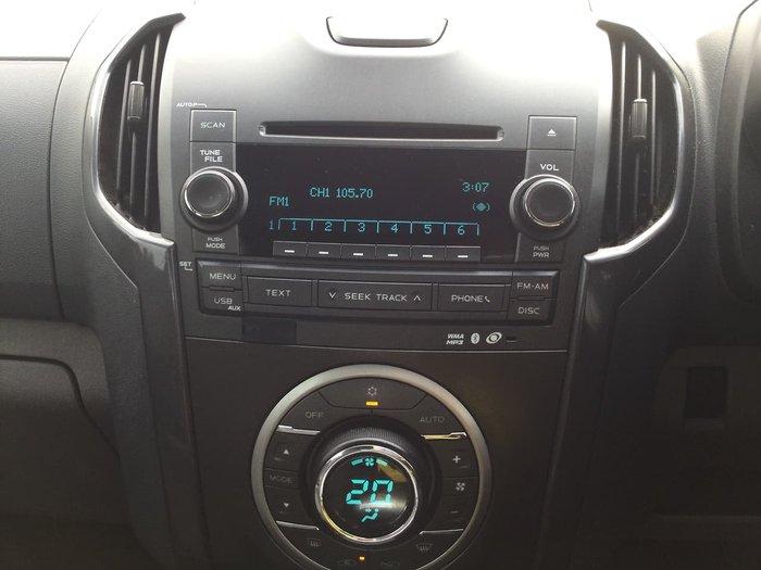 2012 Holden Colorado LTZ RG MY13 4X4 Dual Range Silver
