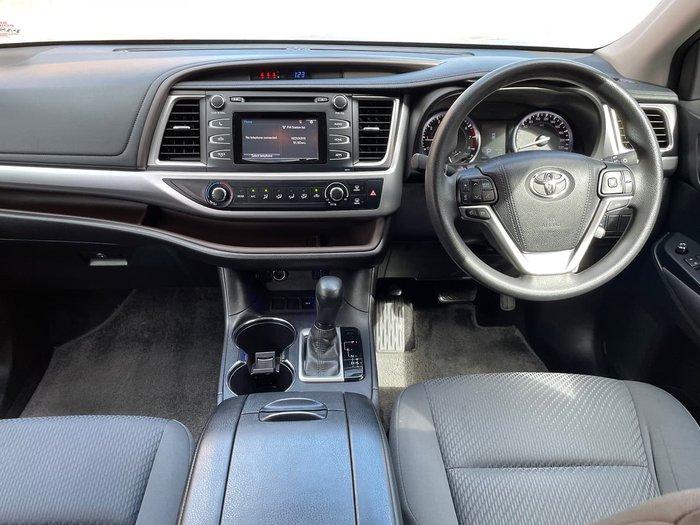 2015 Toyota Kluger GX GSU50R Silver