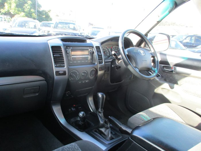 2007 Toyota Landcruiser Prado GXL GRJ120R 4X4 Constant Charcoal Grey