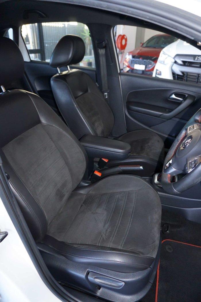 2012 Volkswagen Polo GTI 6R MY12.5 White
