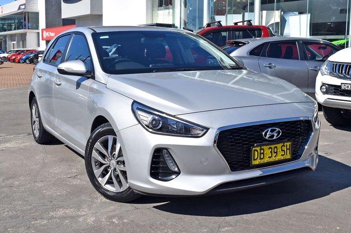 2018 Hyundai i30 Active PD MY18 Silver