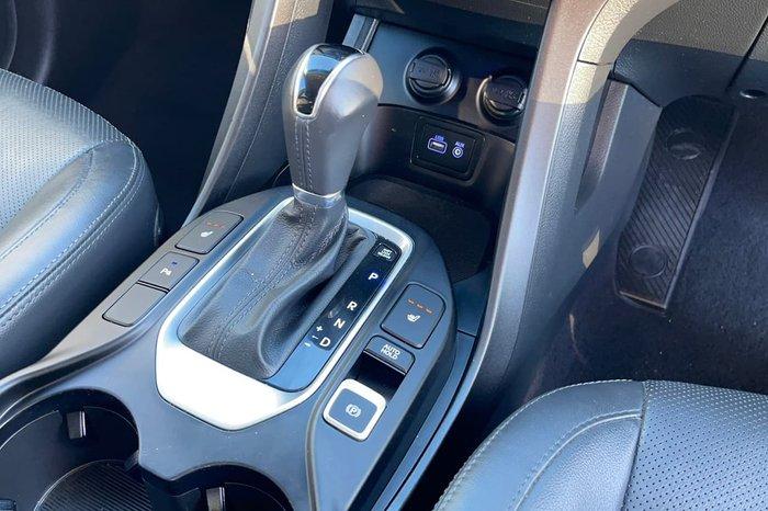 2017 Hyundai Santa Fe Elite DM3 Series II MY17 4X4 On Demand White