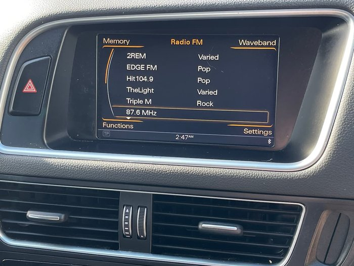 2013 Audi Q5 TDI 8R MY14 Four Wheel Drive White