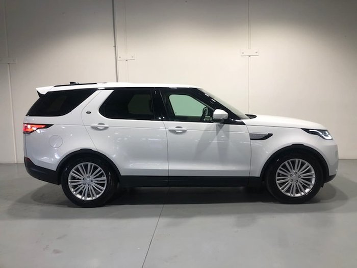 2018 Land Rover Discovery SD4 HSE Series 5 MY18 4X4 Dual Range White