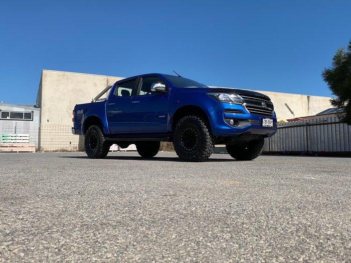 2017 Holden Colorado LTZ RG MY18 4X4 Dual Range Blue