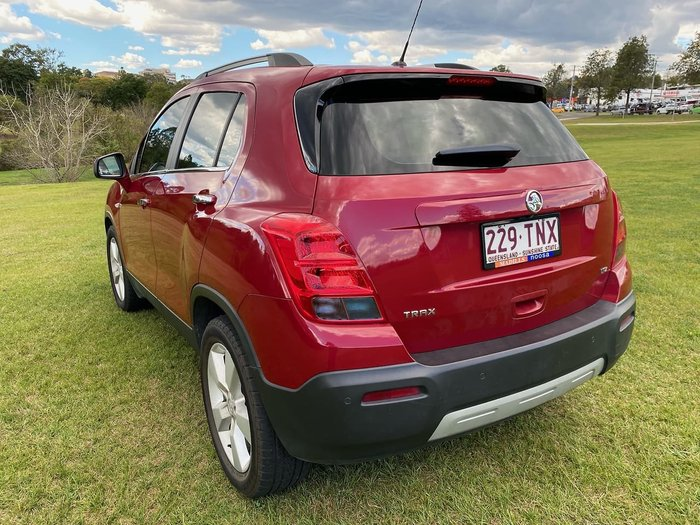 2013 Holden Trax LTZ TJ MY14 Red