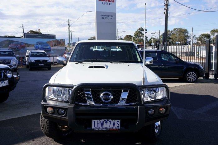 2016 Nissan Patrol N-TEC Y61 4X4 Dual Range White