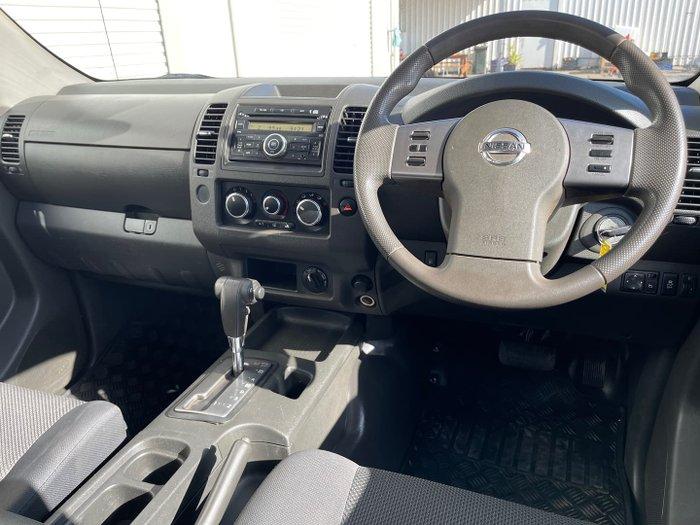 2014 Nissan Navara RX D40 Series 8 4X4 Dual Range Polar White