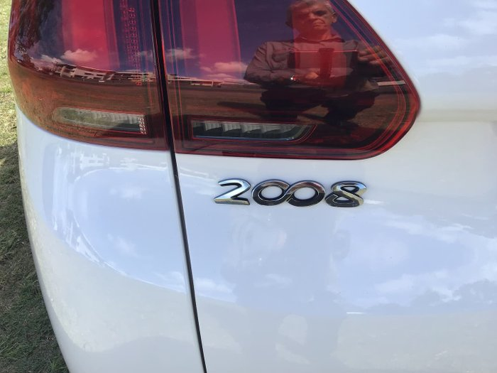 2018 Peugeot 2008 Active A94 MY18 White