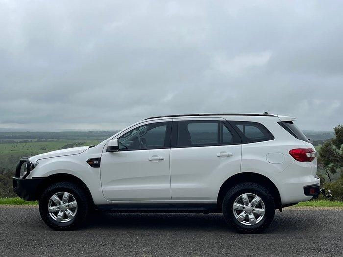 2018 Ford Everest Ambiente UA MY18 4X4 Dual Range White