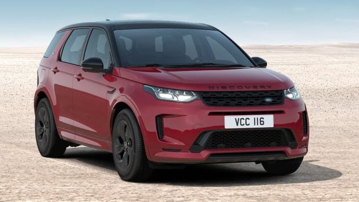 2021 Land Rover Discovery Sport P200 R-Dynamic S L550 MY21 4X4 Constant Firenze Red