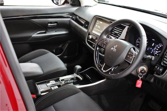 2020 Mitsubishi Outlander ES ZL MY21 AWD Red Diamond