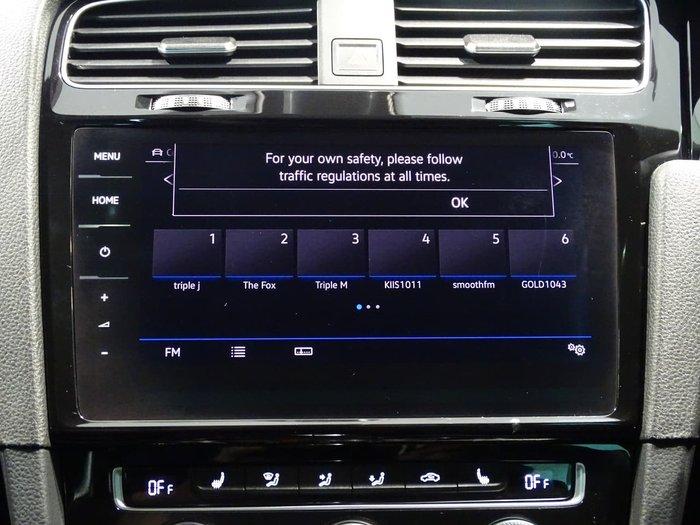 2018 Volkswagen Golf R 7.5 MY18 Four Wheel Drive Silver
