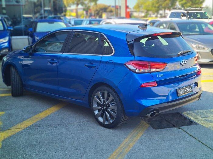 2017 Hyundai i30 SR Premium PD MY18 Blue