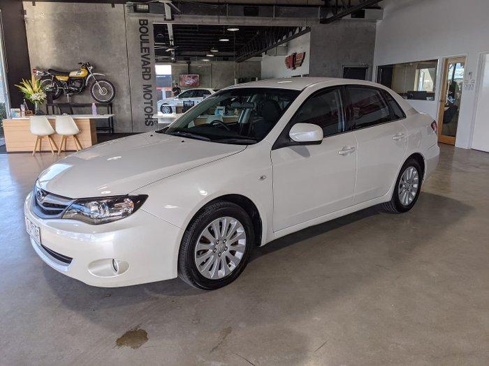 2010 Subaru Impreza RX G3 MY11 AWD Satin White Pearl