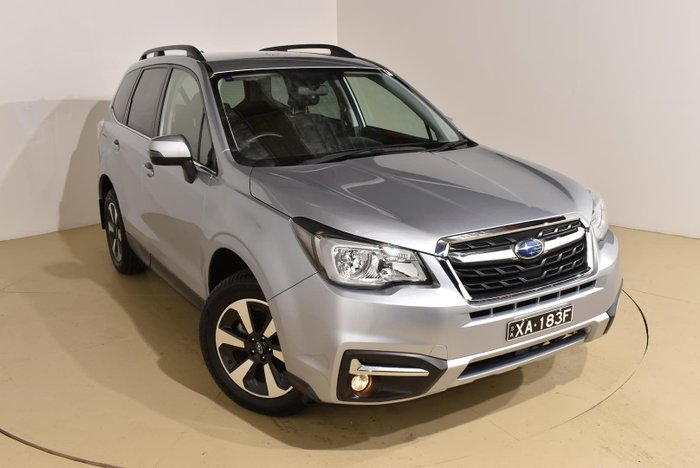 2017 Subaru Forester 2.5i-L S4 MY18 AWD Ice Silver