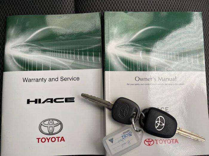 2014 Toyota Hiace TRH201R MY14 White