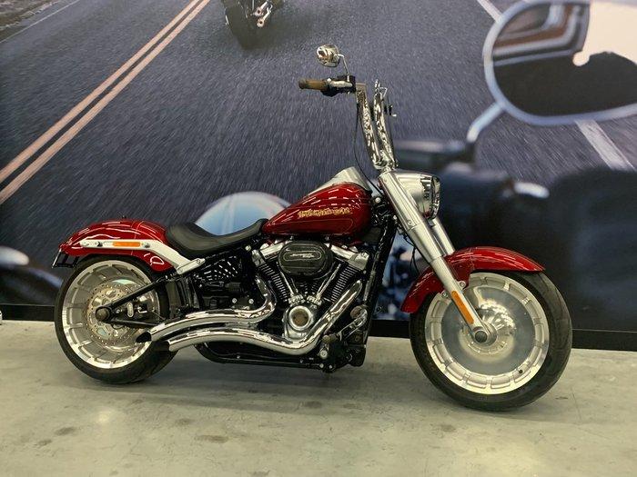 2018 Harley-davidson FLFB FAT BOY Red