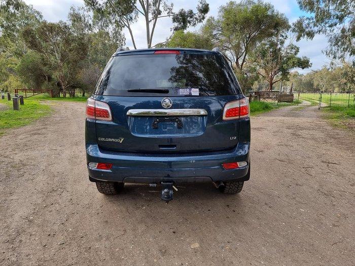 2016 Holden Colorado 7 LTZ RG MY16 4X4 Dual Range Blue