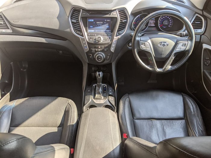 2013 Hyundai Santa Fe Highlander DM MY13 4X4 On Demand Black