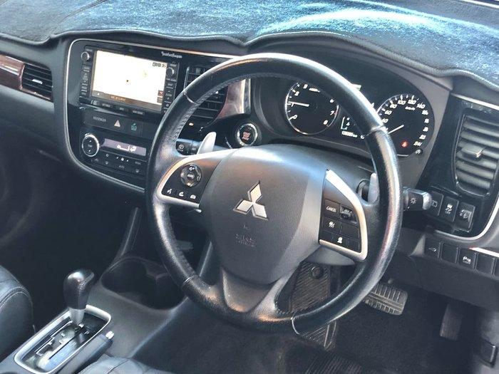2013 Mitsubishi Outlander Aspire ZJ MY13 4X4 On Demand Grey