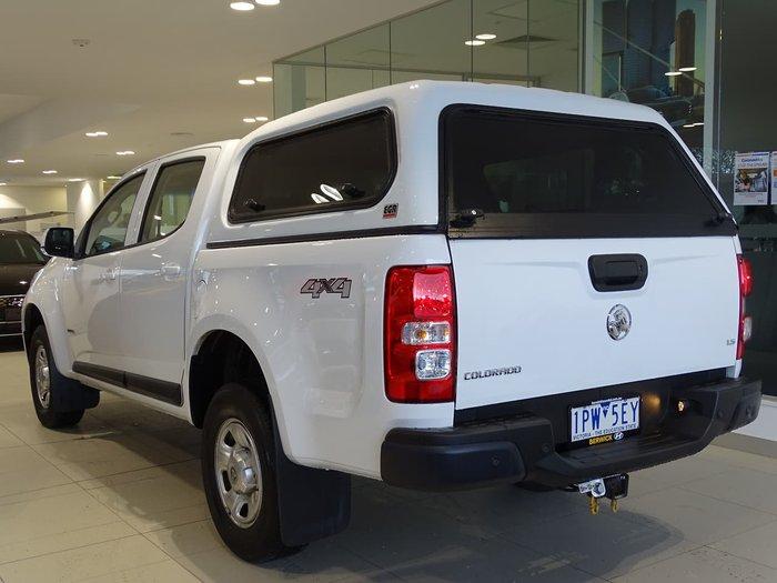 2019 Holden Colorado LS RG MY20 White