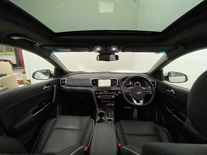 2020 Kia Sportage GT-Line QL MY20 AWD White