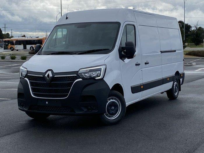 2021 Renault Master Pro 110kW X62 Phase 2 MY21 WHITE LWB AUTO