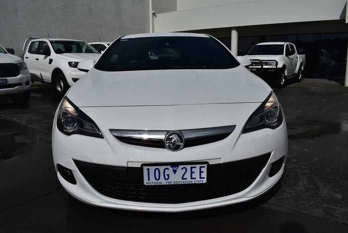 2015 Holden Astra GTC Sport PJ MY15.5 White