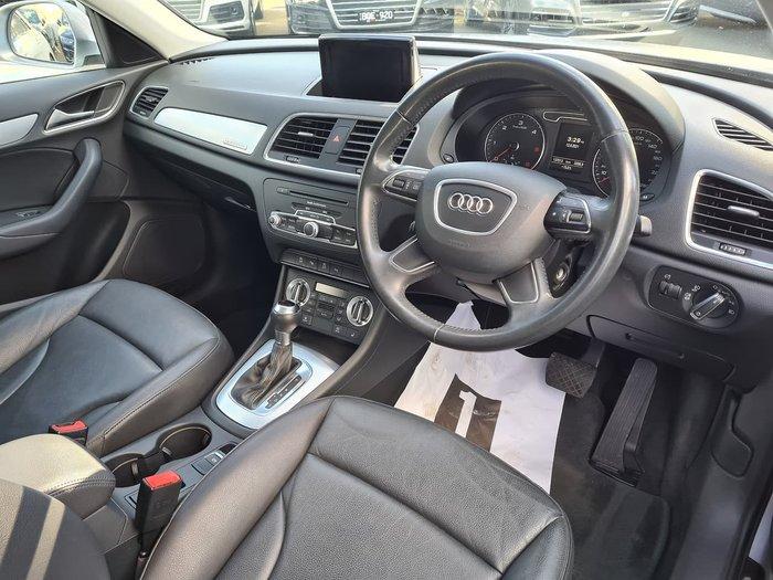 2014 Audi Q3 TDI 8U MY14 Four Wheel Drive Silver