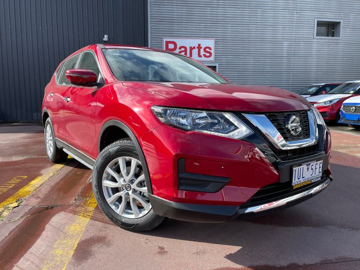 2021 Nissan X-TRAIL ST T32 MY21 Ruby Red