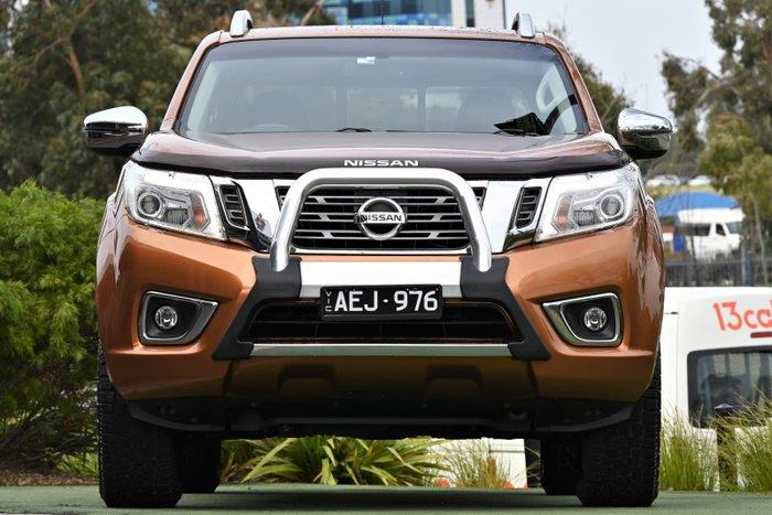 2015 Nissan Navara ST-X D23 4X4 Dual Range Orange