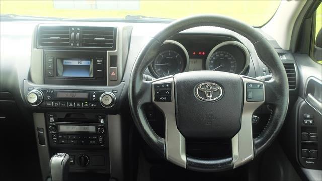 2013 Toyota Landcruiser Prado GXL KDJ150R 4X4 Constant Grey