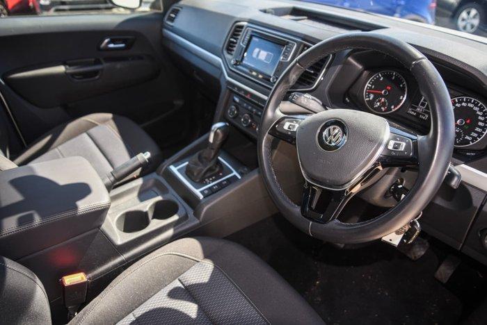 2019 Volkswagen Amarok TDI550 Highline 2H MY20 4X4 Constant Candy White