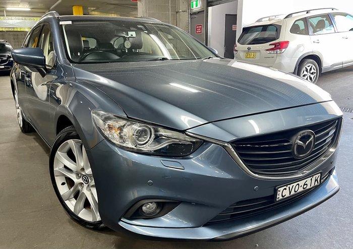 2014 Mazda 6 Atenza GJ Blue