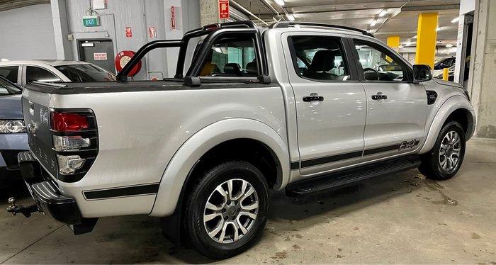 2017 Ford Ranger XLT PX MkII 4X4 Dual Range Silver