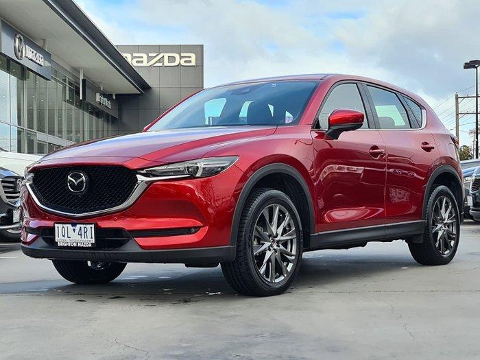 2019 Mazda CX-5 Akera KF Series AWD Soul Red Crystal