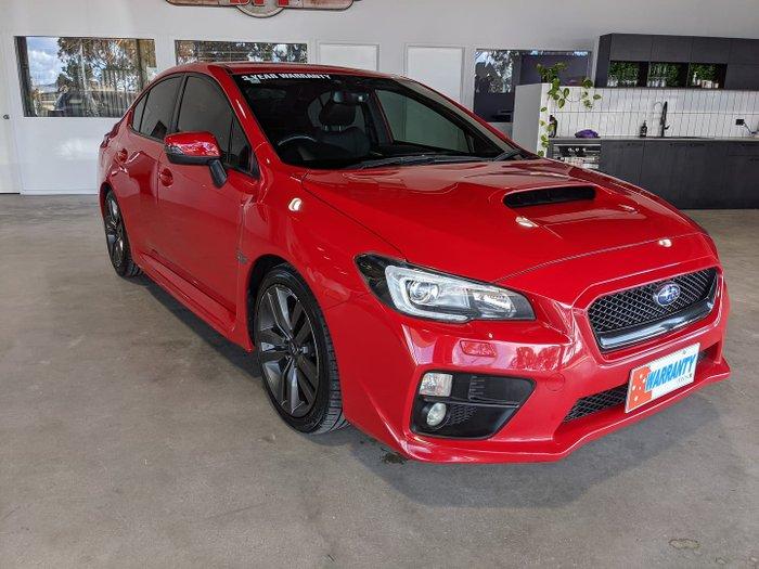 2016 Subaru WRX Premium V1 MY16 AWD Pure Red