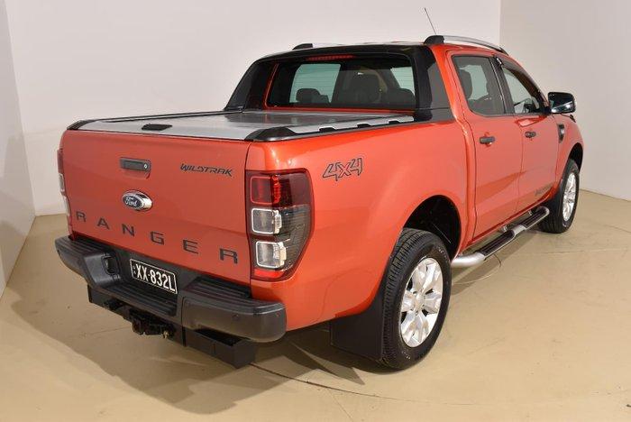 2013 Ford Ranger Wildtrak PX 4X4 Dual Range Chilli Orange