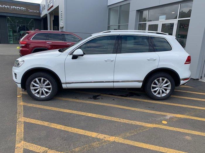 2016 Volkswagen Touareg 150TDI 7P MY16 Four Wheel Drive White