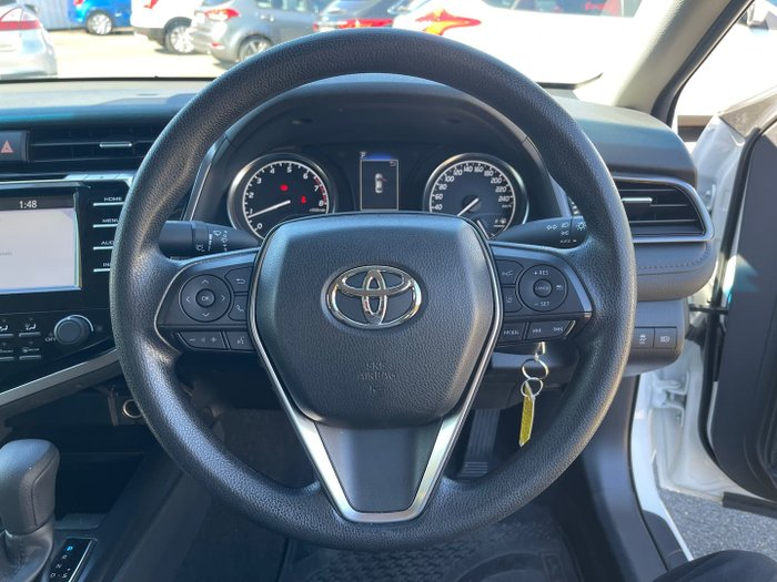 2020 Toyota Camry Ascent ASV70R Frosted White