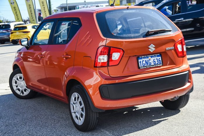 2018 Suzuki Ignis GL MF Orange