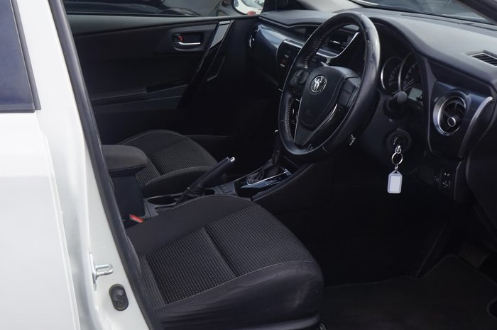 2017 Toyota Corolla Ascent Sport ZRE182R White