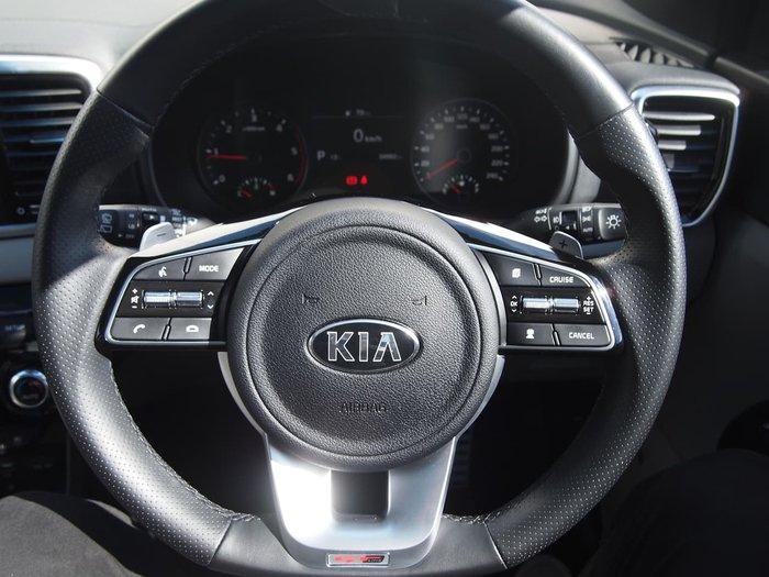 2019 Kia Sportage GT-Line QL MY19 AWD White